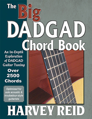 The Big DADGAD Chord Book